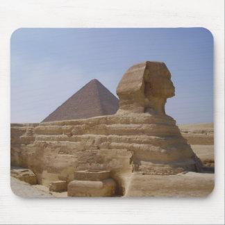 pirámide de la esfinge alfombrilla de ratón