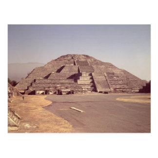 Pirámide de la luna, ANUNCIO construido c.100-350 Tarjeta Postal