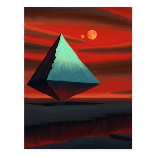 Pirámide de la luna tarjetas postales