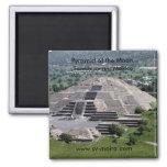 Pirámide de la luna, Teotihuacan, México Imán
