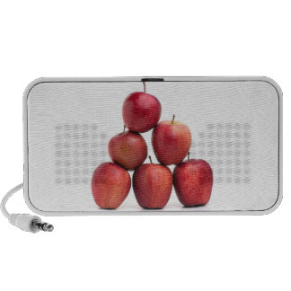 Pirámide de las manzanas red delicious laptop altavoces