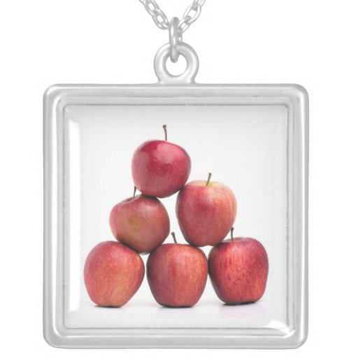 Pirámide de las manzanas red delicious pendientes personalizados
