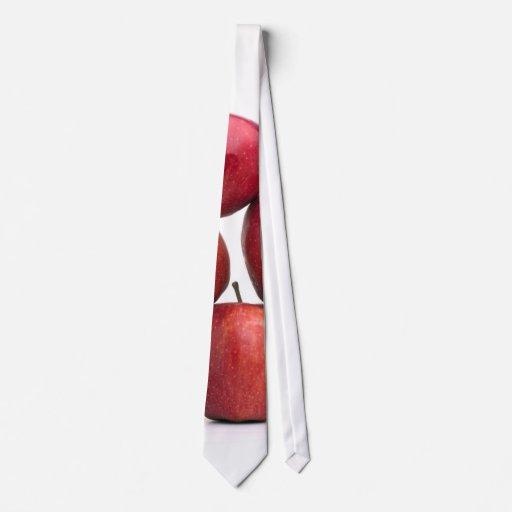 Pirámide de las manzanas red delicious corbata