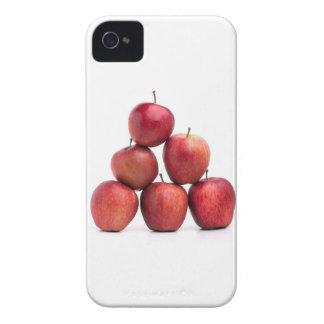 Pirámide de las manzanas red delicious Case-Mate iPhone 4 fundas