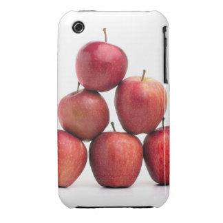 Pirámide de las manzanas red delicious iPhone 3 funda