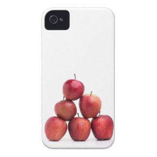 Pirámide de las manzanas red delicious iPhone 4 Case-Mate cárcasa