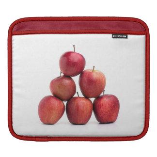 Pirámide de las manzanas red delicious funda para iPads