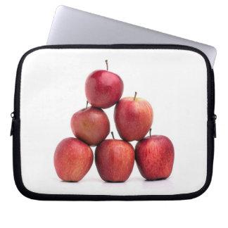 Pirámide de las manzanas red delicious mangas portátiles