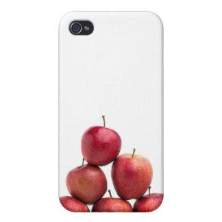 Pirámide de las manzanas red delicious iPhone 4 fundas