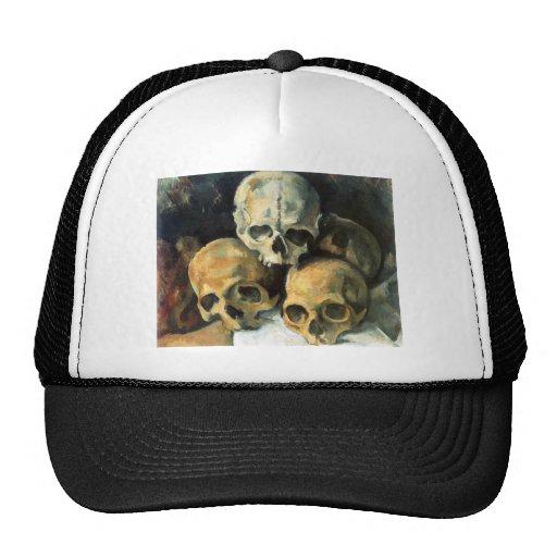 Pirámide de los cráneos Paul Cezanne Gorros Bordados
