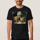 Pirámide de los cráneos Paul Cezanne Remera