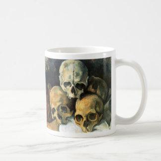Pirámide de los cráneos Paul Cezanne Taza De Café