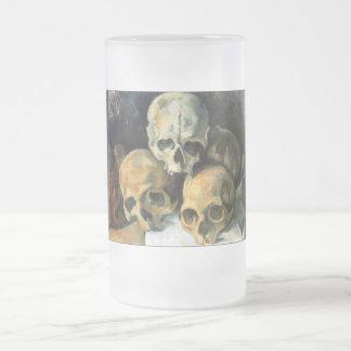 Pirámide de los cráneos Paul Cezanne Tazas De Café