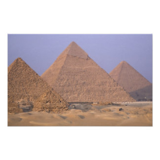 Pirámide de Menkaure Mycerinus), pirámide de Posters