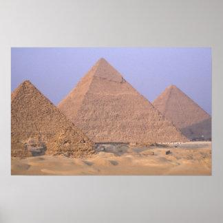 Pirámide de Menkaure Mycerinus), pirámide de Póster