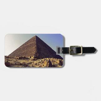Pirámide de Pharoahs Etiquetas Maleta