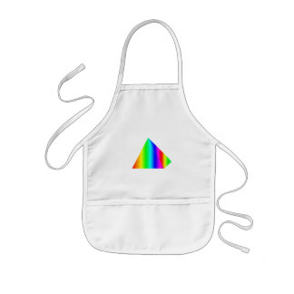 Pirámide del arco iris delantales