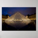 Pirámide del Louvre del arquitecto I.M. Pei en Impresiones