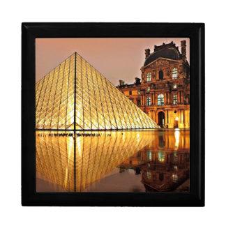 Pirámide del Louvre, París Cajas De Recuerdo