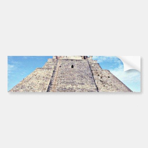 Pirámide del mago, ANUNCIO del estilo 500 de Puuc, Etiqueta De Parachoque