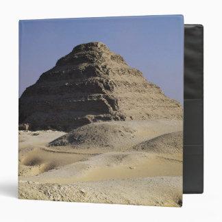 """Pirámide del paso de rey Djoser Old Kingdom Carpeta 1 1/2"""""""