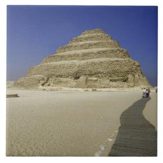 Pirámide del paso en Saqqara, uno del más temprana Azulejo Cuadrado Grande