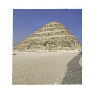 Pirámide del paso en Saqqara, uno del más temprana Bloc De Notas
