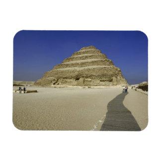 Pirámide del paso en Saqqara, uno del más temprana Imanes De Vinilo