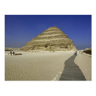 Pirámide del paso en Saqqara, uno del más temprana Postal