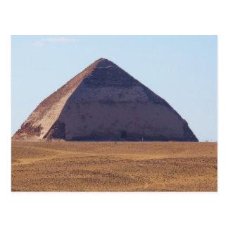 Pirámide doblada egipcio antiguo - Dahshur Tarjetas Postales
