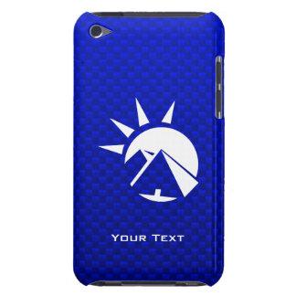 Pirámide egipcia azul iPod touch carcasa