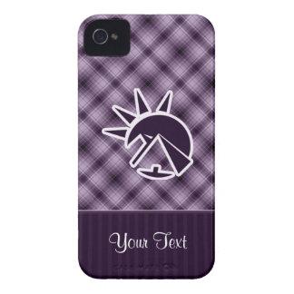 Pirámide egipcia púrpura iPhone 4 coberturas