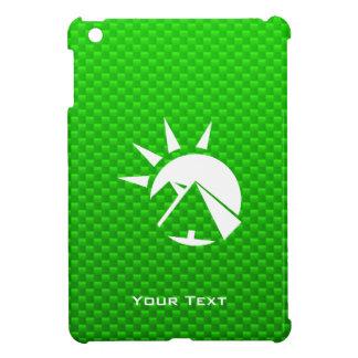 Pirámide egipcia verde iPad mini cárcasa