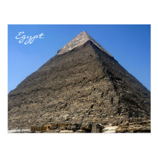 pirámide Egipto del khafre Tarjetas Postales