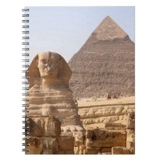 PIRÁMIDE EGIPTO LIBRETA