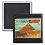 Pirámide El Cairo Egipto de Giza Imán De Nevera