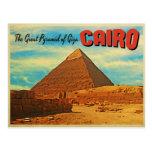 Pirámide El Cairo Egipto de Giza Postal