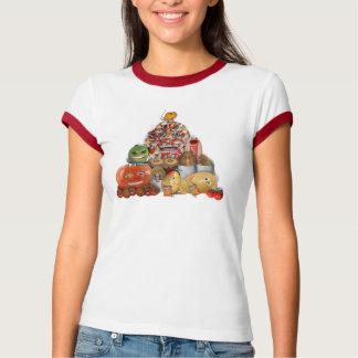 Pirámide extraña de Junk Food Remera