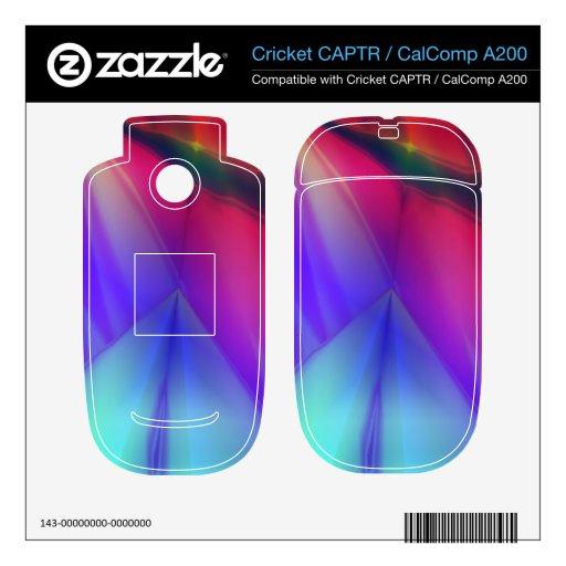 Pirámide fantasma cricket CAPTR calcomanías