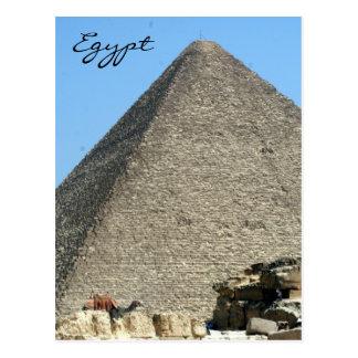 pirámide gran Egipto Postal