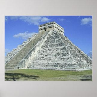Pirámide grande - poster