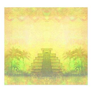 Pirámide maya, ampliación de la foto de México