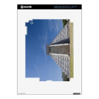 Pirámide maya, mañana en marzo iPad 3 pegatina skin