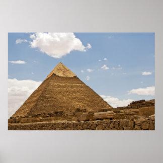 Pirámide Póster