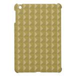 Pirámide tachonada oro iPad mini coberturas