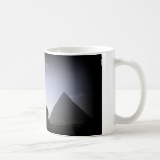 Pirámide y esfinge taza