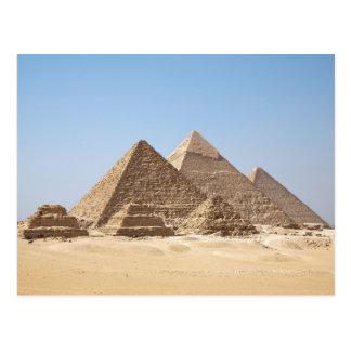 Pirámides de Egipto-Gizah Postales