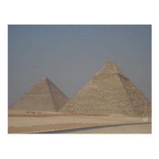 pirámides de Egipto Postal