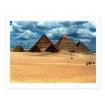 Pirámides de Gizeh Postal