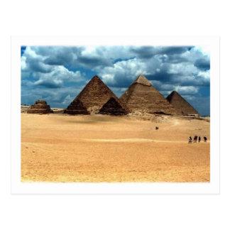Pirámides de Gizeh Tarjeta Postal